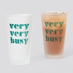 very very busy Drinking Glass