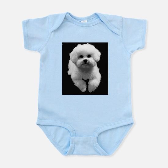 Beau in Black Infant Bodysuit