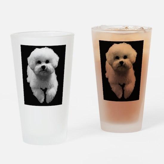 Beau in Black Drinking Glass