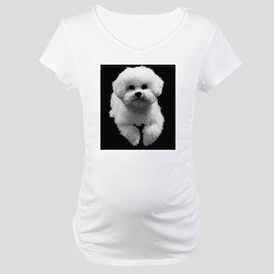 Beau in Black Maternity T-Shirt