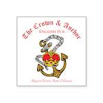 Crown--Anchor-English-Pub-tran Sticker