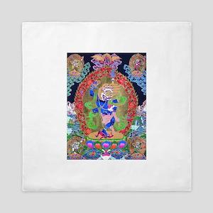 Tibetan Thangka Simhavaktra Dakini Tib Queen Duvet