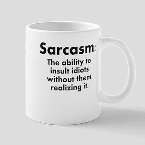 Sarcasm Definition Mug
