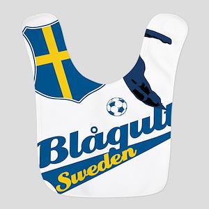 soccer player designs Polyester Baby Bib