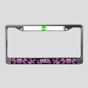 Earth Day Everyday tree License Plate Frame