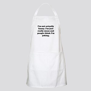 Just Really Mean Apron