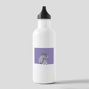 Purple Hedgehog Water Bottle