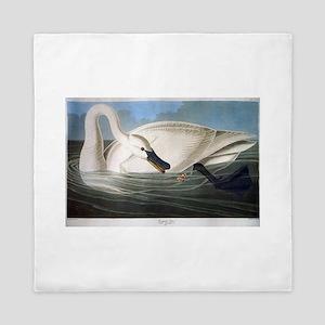 J J Audubon - Swan Queen Duvet