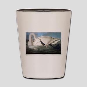 J J Audubon - Swan Shot Glass