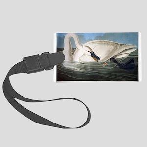 J J Audubon - Swan Luggage Tag