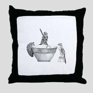 Mixing bowl Throw Pillow