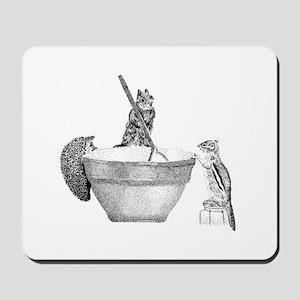 Mixing bowl Mousepad