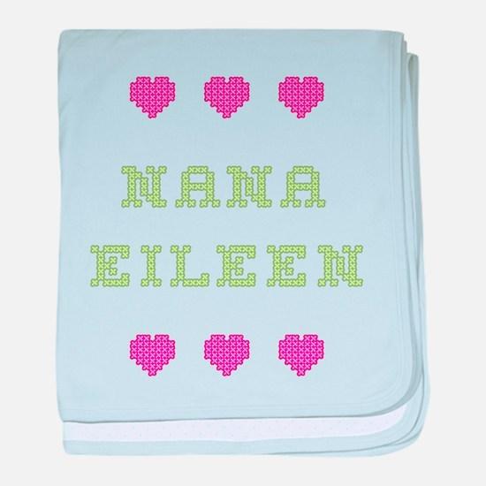 Nana Eileen baby blanket