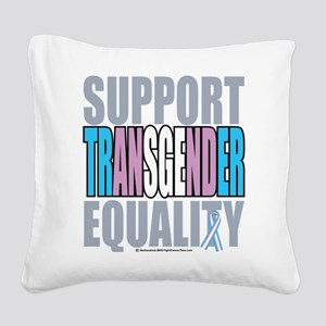Support-Transgender-Equality Square Canvas Pil