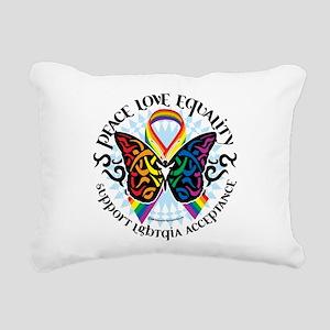 LGBTQIA-Butterfly-Tribal Rectangular Canvas Pi