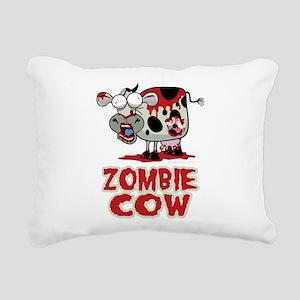 Zombie-Cow Rectangular Canvas Pillow