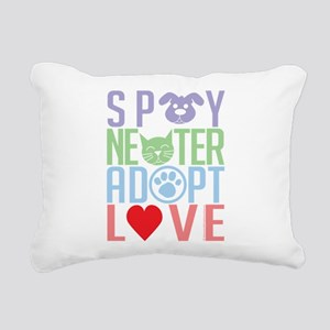 Spay-Neuter-Adopt-Love-2010 Rectangular Canvas