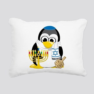 Hanukkah-Penguin-Scarf Rectangular Canvas Pill