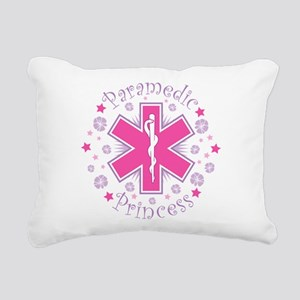 Paramedic Princess Rectangular Canvas Pillow
