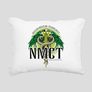 NMCT-Caduceus Rectangular Canvas Pillow