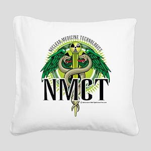 NMCT-Caduceus Square Canvas Pillow