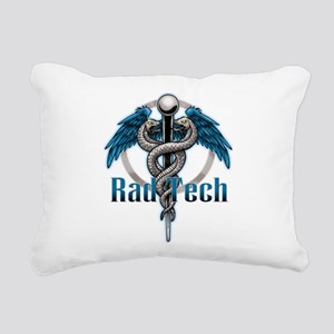 Rad-Tech-Blue-Caduceus Rectangular Canvas Pill