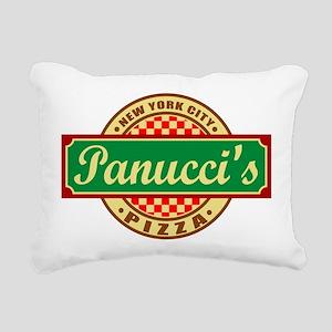 Panuccis Pizza2 Rectangular Canvas Pillow