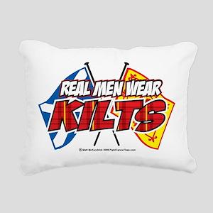 Real-Men-Wear-Kilts-2 Rectangular Canvas Pillo