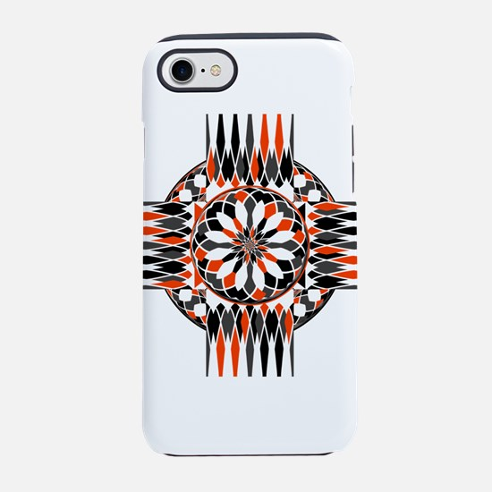 Geometric celtic cross iPhone 7 Tough Case