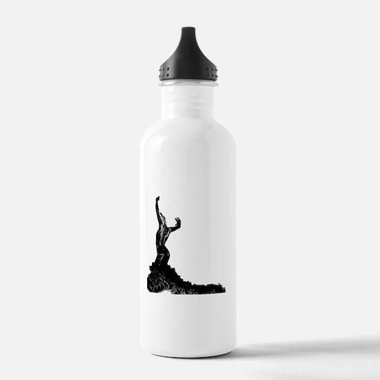 Flamenco dancer bata Water Bottle