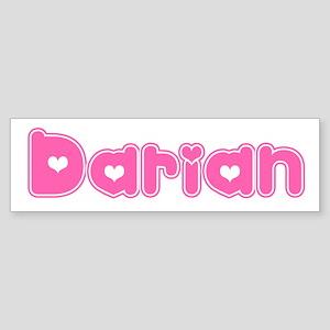 """""""Darian"""" Bumper Sticker"""