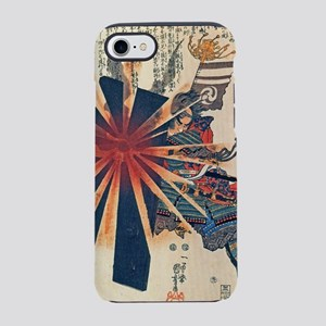 Cool Japanese Samurai Warrior  iPhone 7 Tough Case