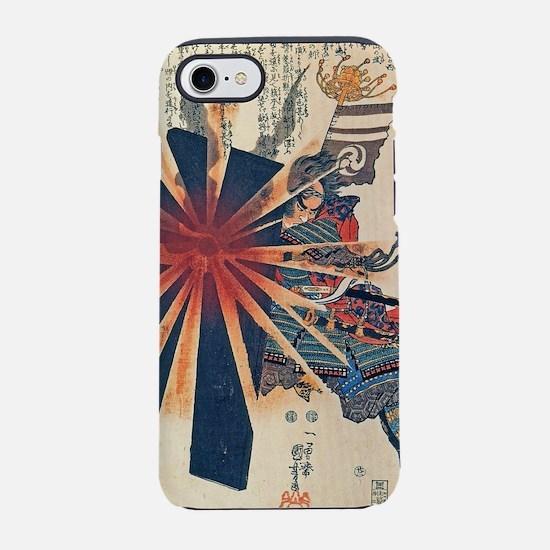 Cool Japanese Samurai Warrior  iPhone 7 Tough Case