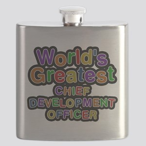 Worlds Greatest CHIEF DEVELOPMENT OFFICER Flask
