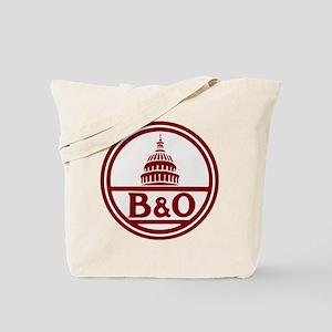 B&O railroad design Tote Bag