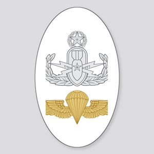 Master EOD Parachutist Sticker (Oval)
