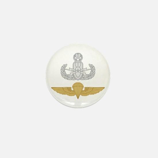 Master EOD Parachutist Mini Button