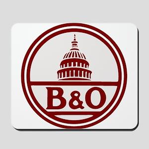 B&O railroad design Mousepad