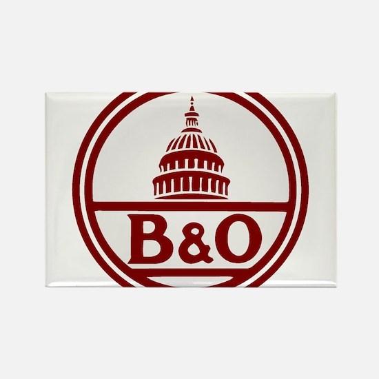 B&O railroad design Magnets