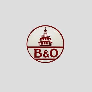 B&O railroad design Mini Button