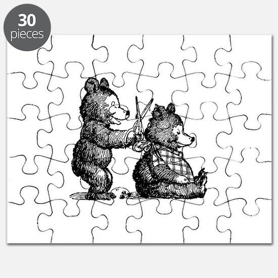 Beary Nice Haircut Puzzle