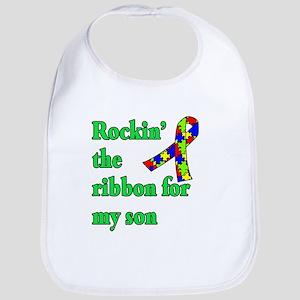 Autism Ribbon for Son Bib
