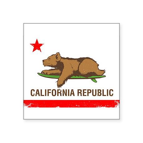 Surfing CA cub Sticker
