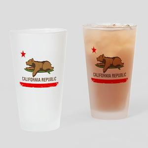 Surfing CA cub Drinking Glass