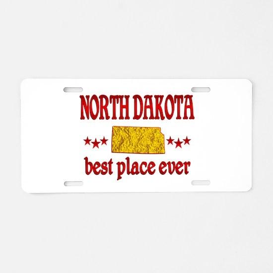 North Dakota Best Aluminum License Plate