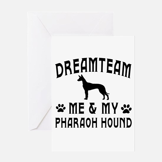 Pharaoh Hound Dog Designs Greeting Card