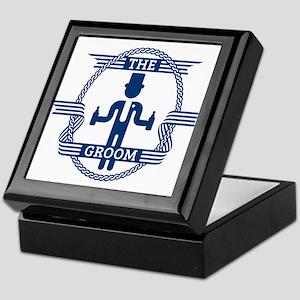 The Groom (Blue) Keepsake Box
