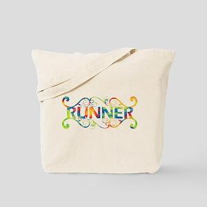 Colorful Runner Tote Bag