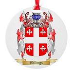 Billings Round Ornament
