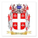 Billings Square Car Magnet 3